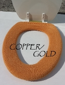 Bathroom Toilet Seat Warmer (Cover) Copper